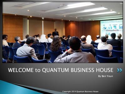 business seminar sliders